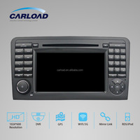 android 5.1 2 auto gps 6 disc car dvd changer for Mercedes ML series