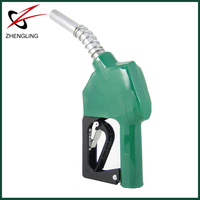 Nozzle fuel dispenser
