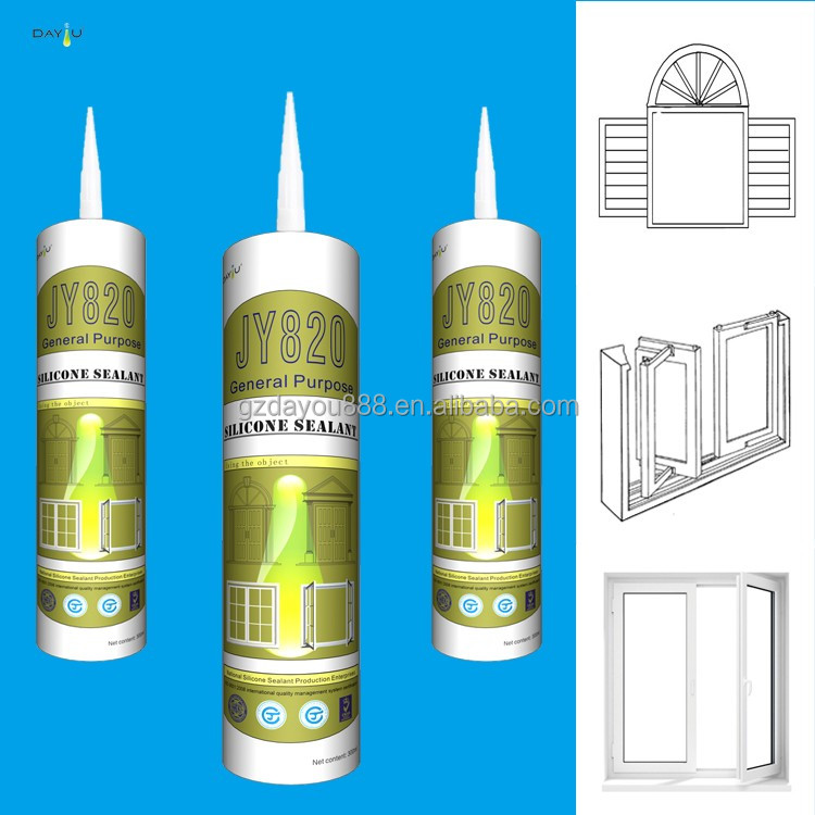 Water proof high quality bathroom aluminum silicone sealants
