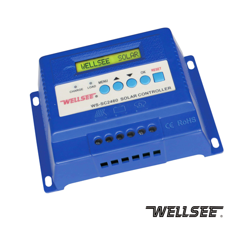 Smart voltage control charging 40A WS-SC2460 12/24v intelligent solar battery charge controller
