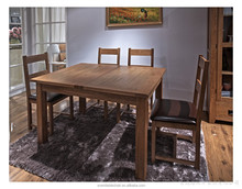 2015 Qing dao wood luxury dining room set in living room