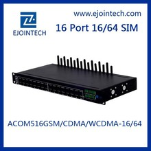 16 ports GSM VOIP Gateway Auto IMEI Changeable bcm68380 home gateway unit