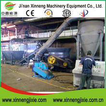 Xinneng disc crusher machine with sawdust briquette machine