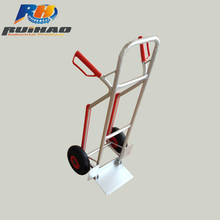 Aluminium Airport Hand Trolley 110KG Load Capacity Manufactures