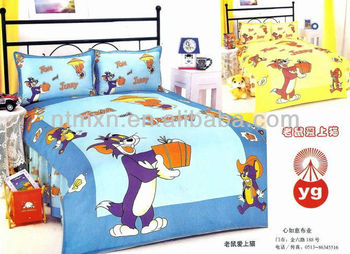 100% cotton hot sale cotton beddint set children bedding et