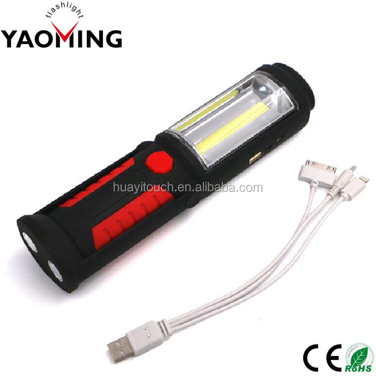 Hot Sale Super Bright Rechargeable Flashlight Led Work Torch USB Rechargeable Flashlight