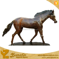 Animal Modern Life Size Bronze Horse Sculpture for Sale