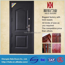 China cheap steel door for used metal securtiy doors