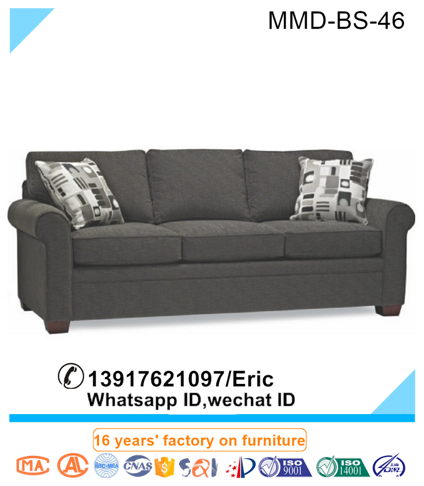 Comfortable Fabric Sofa Bed Sofa With Queen Bed