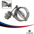 "PQY RACING - NEW vacuum Activated Exhaust Cutout 4"" 102MM open Style with ROD Pressure: about 1 BAR PQY-ECV06-RP"