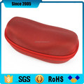 1680D red eva sunglass zipper case