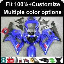 INJECTION MOLDING panels ABS Fairing For Suzuki K1 GSXR 600/750 GSXR GSX R600 blue GSX R750 2001 2002 2003 Racing Fairing
