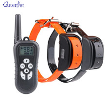 Training Device Outdoors Dog No Bark Shock Electronic Collar