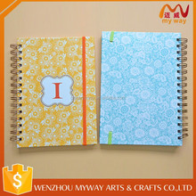 School stationery A4 size cheap writing spiral notebook factory price