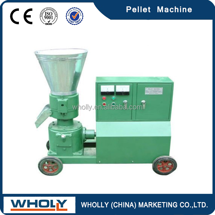 Ce Food Extruder Machine / Floating Fish Feed Pellet Machine
