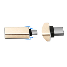 USB Type-C Male to USB 3.0 Female OTG Data Transmission Charging Adapter For Macbook