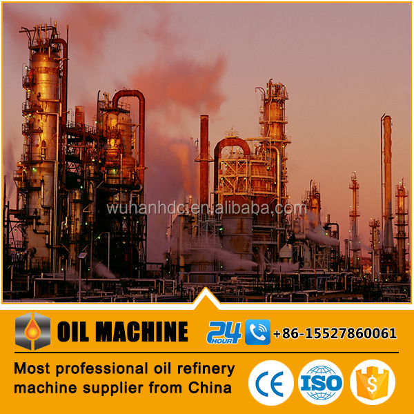 HDC110 ISO & CE proved American standard separation of petrol from crude oil oil refinery distillation refinery fuel oil