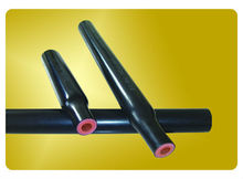 Trifurcated HST Semi-Conductive/Insulation/Elastomeric insulation