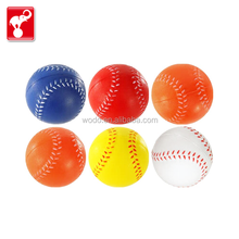 OEM factory free sample kids sports toy balls customized pu foam anti stress ball