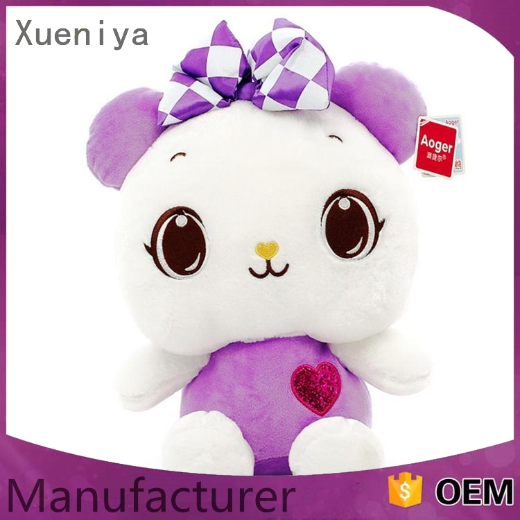 china alibaba factory High Quality custom plush bee costume bear toy