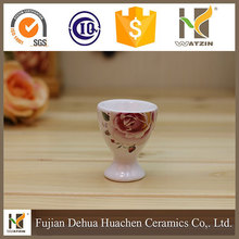 wholesale elegant ceramic wine cup for drinking ware,2017 China new ceramic wine cup