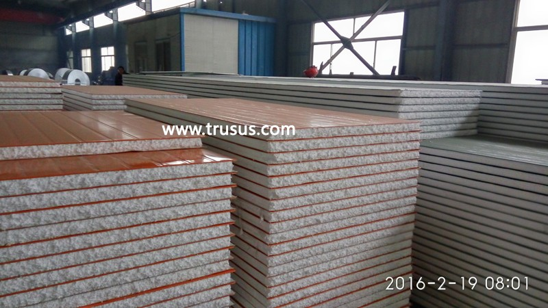 The Best Supplier CE&ISO Approved For South Africa Market Eps Sandwich Panels Prices