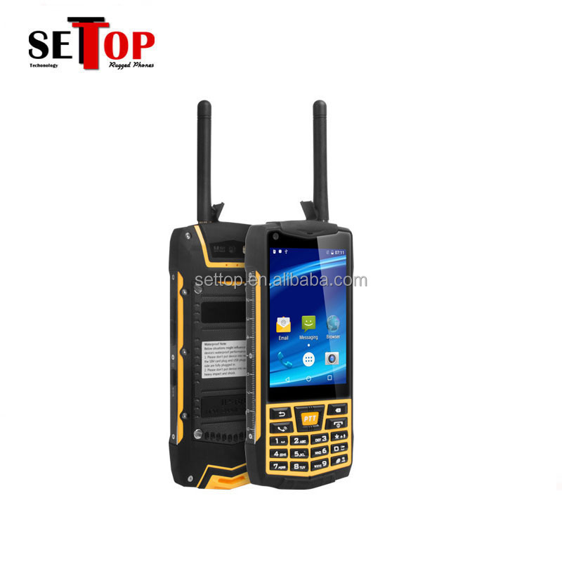 Hot Sale 3G Keyboard Android N2 IP68 Rugged Mobile Phone With Walkie Talkie