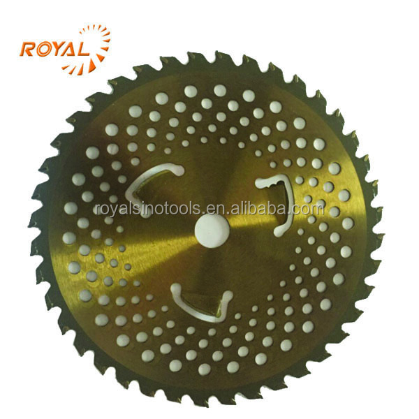 24T 32T 40T 60T 80T Alloy Steel Metal Brush Trimmer Alloy Blade Grass Trimmer Blade