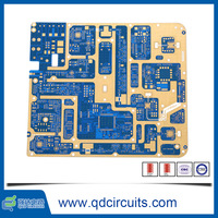 Telecom Applications RO4350B+FR4 1 OZ Copper Thickness factory price pcb