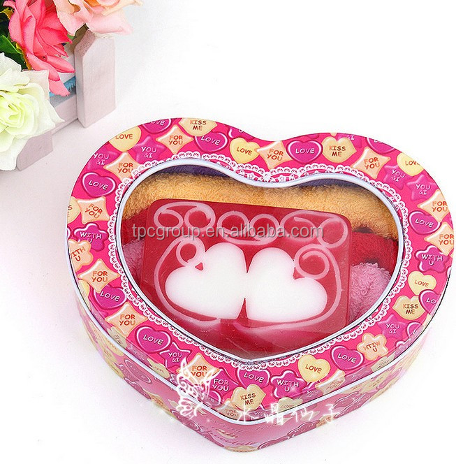 2014 promotion Fancy Natural Handmade Soap with gift package