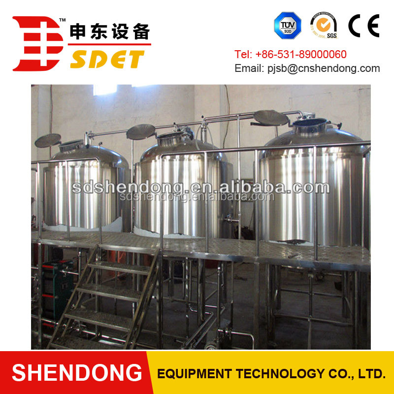 High quality 1000L beer brewing equipment ,beer plant,beer making machine with CE for sale
