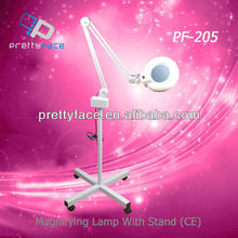 magnifying lamp with floor stand