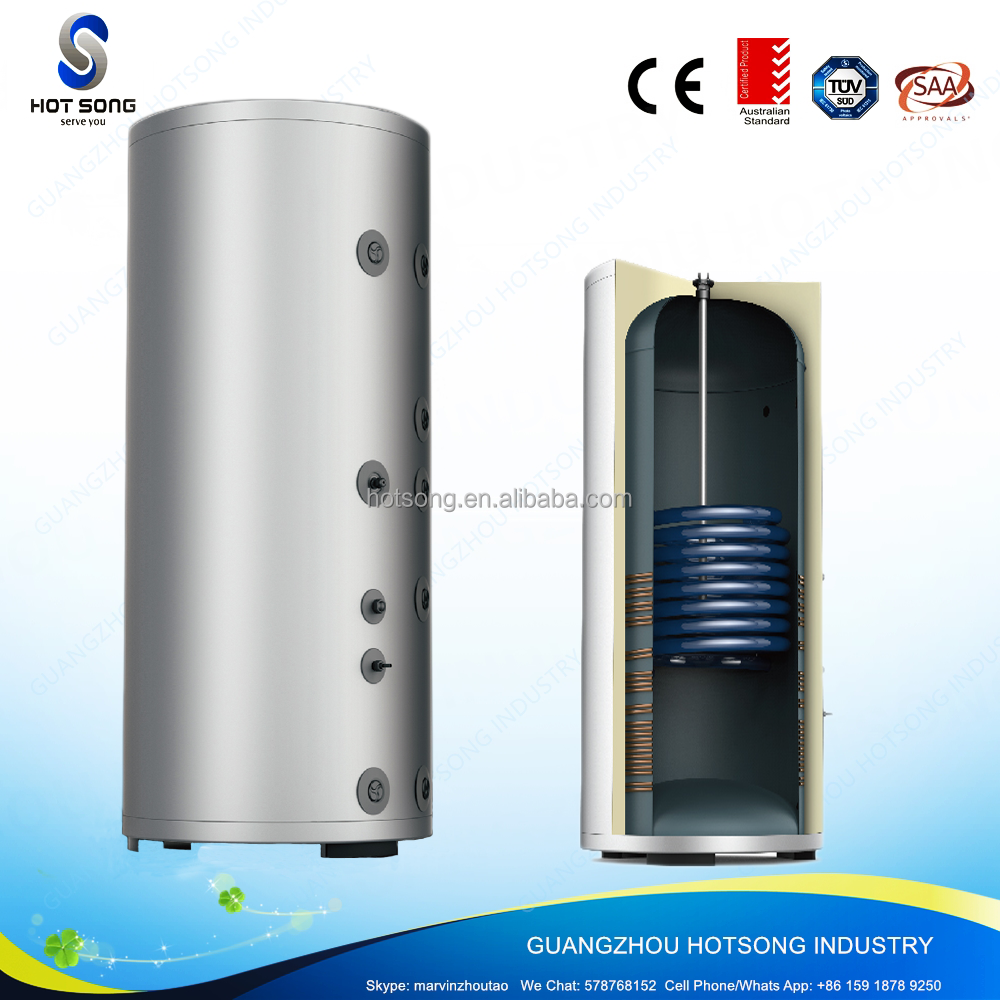 300L high capacity household vertical thermostat electric tankless hot water heater for shower