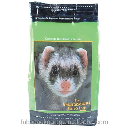 Factory supply plastic pet food bag,food grade plastic bag