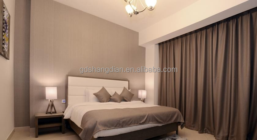 Modern home and hotel room furniture/ sex hotel bedroom set furniture for hotel rooms made in china dubai market