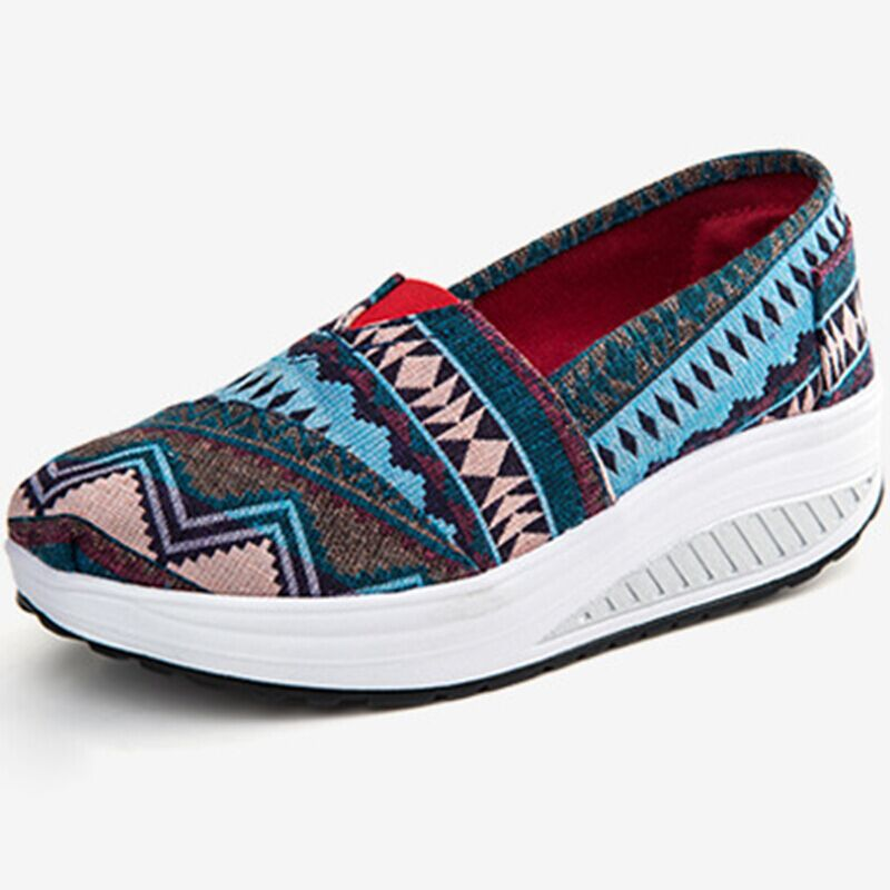 Get Quotations · New Brand Indian Ethnic Shoes 2015 New Fashion Women s  Sport Shoes Sneakers For Women Breathable Shoes 27ee03f2e451