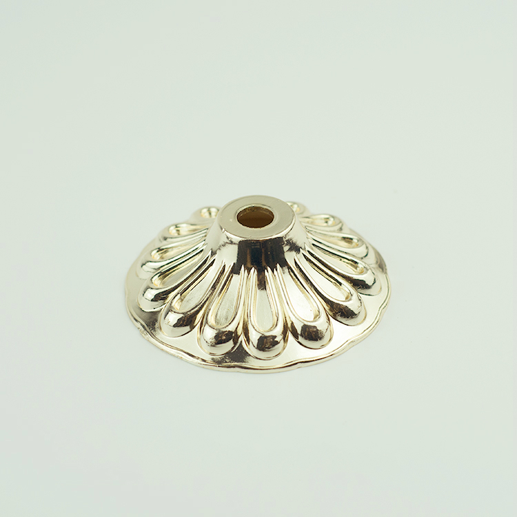 Zinc alloy die casting Flower <strong>cover</strong> cup dish <strong>G10</strong>-60 Craft decoration Vintage Led bulb Tube lights Lighting accessories Wholesale