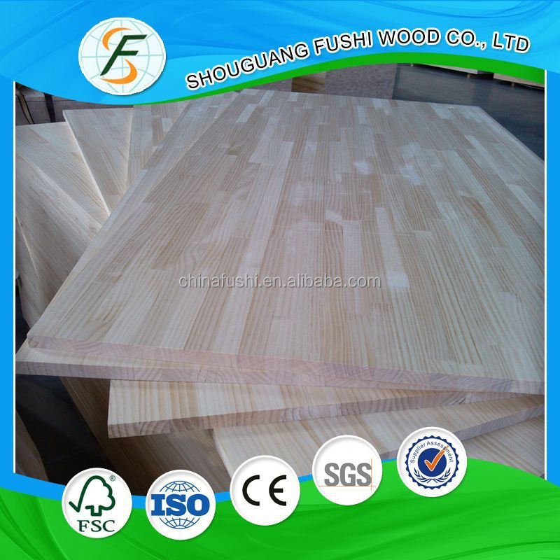 2015 New product chinese fir wood finger joint board