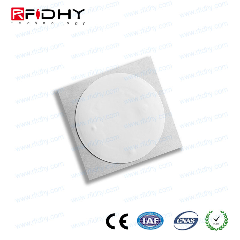 low cost rfid hf anti-counterfeit NFC tag Ntag213, passive 13.56Mhz rfid security label anti-tamper inlay sticker