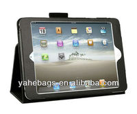 for iPad mini leather cover pu case folding tablet case