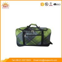 Sale fast ployster material trolley travel bag