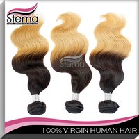 colored two tone hair weave for black women remy hair factory price customization wig long straight hair