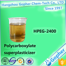 Polycarboxylate superplasticizer HPEG-2400 used as Concrete additive