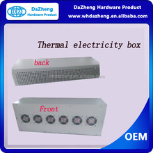 Powder Painting Metal Electricity Box for Metal OEM with Fan