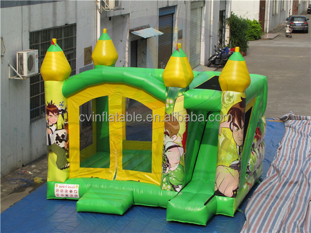 China inflatable bounce house, inflatable bouncy jumping castle, inflatable moon bounce factory price