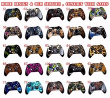 Whole sale Controller vinyl skin sticker for Xbox One many design cheap price