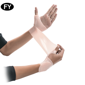Hand palm brace thumb support elastic silicone thumb protector