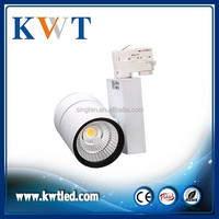 36W Museum Gallery Spotlight Theme Park Dimmable LED Track Lighting
