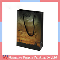 hot sales oem production promotional wholesales shinny gold gift paper bag factory