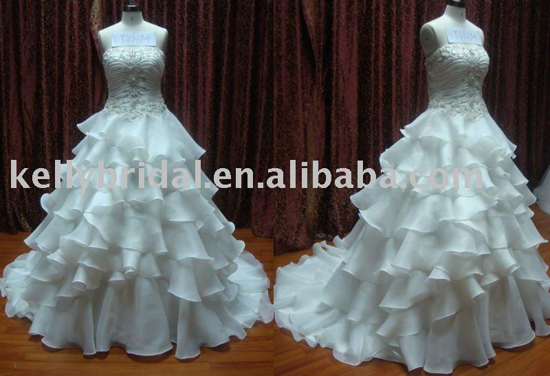 2011 Latest Designer brand Wedding Dress,Bridal Gown